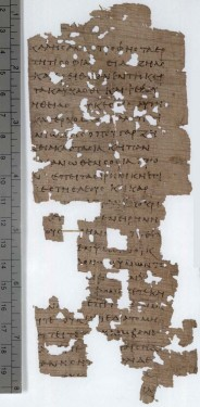 Manuscript of the Old Testament with lacunae