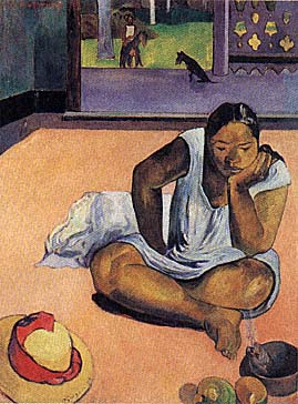 gaugin_brooding_woman