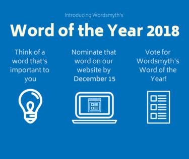 Wordsmyth WOTY 2018 Instructions