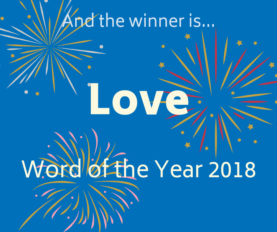 Word of the Year 2018 Announcement